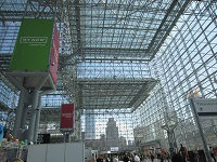 Inside of the exhibition hall.