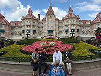 Our last stay ended with market research in Disneyland Paris.
