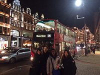 Picture in front of beautiful Harrods.