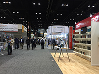 Lots of stands in Chicago show.