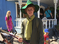 How cool the real Snufkin is!