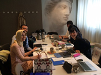 Meeting with TURKUAZ, towel manufacture from Turkey.
