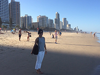 Gold Coast―where city and beach coexist.