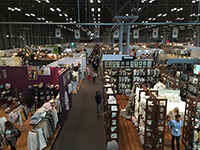 The high-sensed exhibition hall.