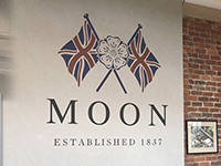 We visited the tweed manufacture MOON.