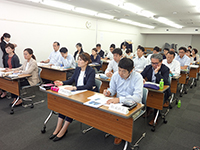 During the lesson of Tanabe management.