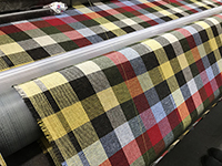 The Abraham Moon & Sons has a long history as a tweed manufacturer. We inspected inside the factory with a closer look.