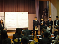 During the Presentation ①