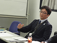 This is Mr. Ito Executive Officer. In the discussion there were various opinion as executive.