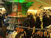 Opening ceremony of Pop-Up Shop! The shop opens soon!