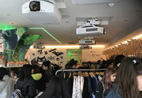 Many consumers came to the Pop-Up shop. It seems that Studio Ghibli is very popular in U.S.A as well.