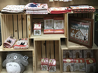 We found our products in Junkudo. We were really happy to see our products in overseas.