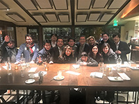 Had a great time having dinner with team.