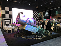 There were lots of licensor exhibiting in Licensing Expo.