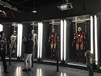 We saw historical Uniforms of Ironman.