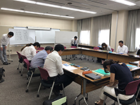 """Tanabe management camp D group"" started. This time,managers, directors, and executive officers joined."