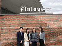 Visited Finlayson, which is one of the most traditional textile companies in Finland.