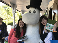 Discover Moomin Papa! ! A nice three shot was taken!