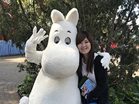 Here are two shots of Moomin and Tsukamoto!