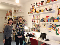 They also visited very famous designer Ms.Ingela P Arrhenius in Sweden.