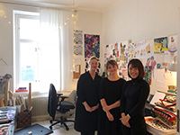 They visited Finnish designer Ms.Jennna.