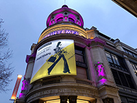 It is a long-established department store in Paris that visited as a market research.