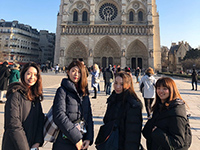 On the second day I visited Notre Dame Cathedral.