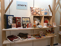 Moomin area―items with warm images.