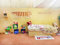 The room of Lisa Larson.