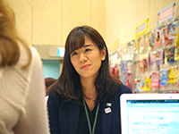 Ms. Kodama Chief handles business meeting who come from overseas.