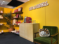 Here is the booth of Lisa Larson.