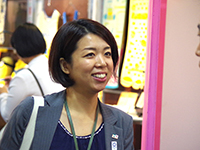 Great Smile of Ms. Suzuki Chief.